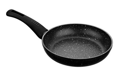 Monix Sartén para saltear, Aluminio, Gris Oscuro Antracita, 24 cm