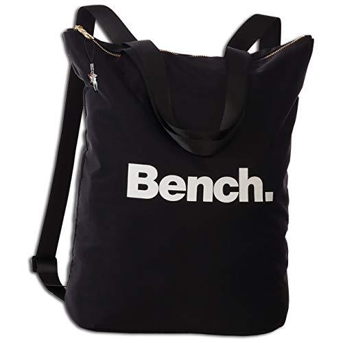 Bench Cityrucksack schwarz 30x40x13 Rucksack Nylon Tagesrucksack Damen ORI303S Nylon Henkeltasche