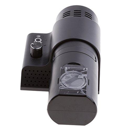 Sharplace Analoge Projektionsuhr Projektionswecker Projektion Wanduhr für Wohnzimmer Schlafzimmer - Schwarz