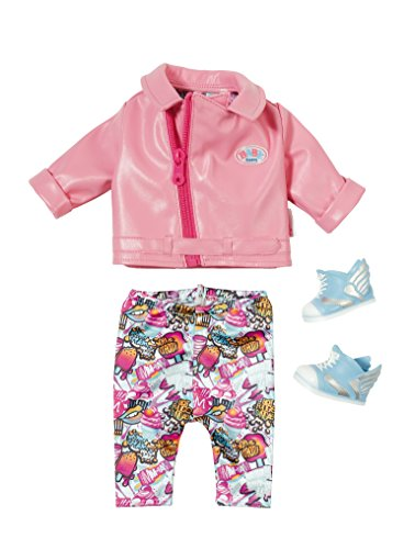 Baby Born- City Deluxe Scooter Outfit Conjunto, Multicolor (