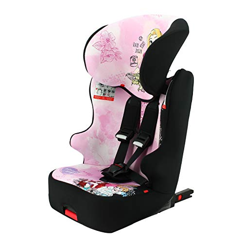 Silla de coche para Bebe isofix RACER grupo 1/2/3 (9-36kg) avec assise - con proteccion lateral -Disney First Princess