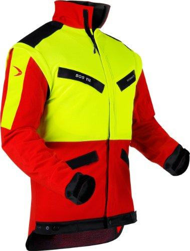 Pfanner 804163-40/M Forstjacke KlimaAIR Größe M in rot/gelb/schwarz, M