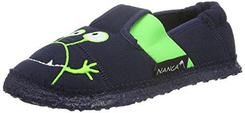 Nanga Jungen Kinder-Hausschuh Moonstar dunkelblau 25