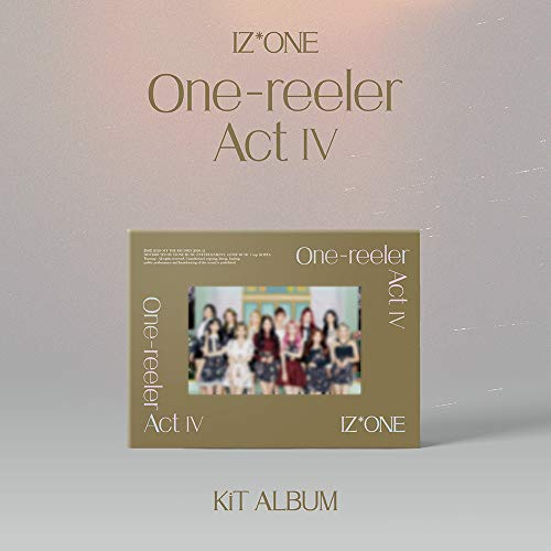 [KIHNO ALBUM] アイズワン - One-reeler Act Ⅳ+Extra Photocards Set [KPOP MARKET特典: 追加特典両面フォトカードセット][韓国盤]