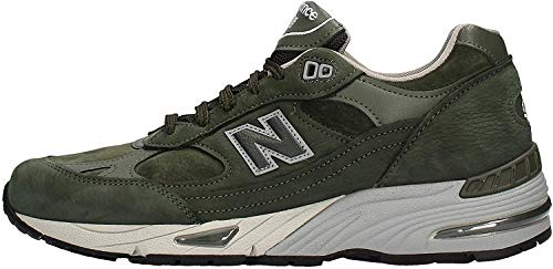 New Balance M991 SDG Dark Green Made in England Trainers-UK 9