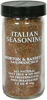 Morton & Basset Spices, Italian Seasoning, 1.2 Ounce (Pack of 3)