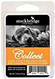 Stockbridge Aromatherapy Wax Melts for Dogs - Beeswax/Coconut Wax, 2.8 oz (Collect (Sweet Orange))