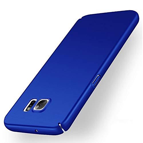 Avalri Funda para Samsung Galaxy S7, Diseño Minimalista Estuche Rígido Ultra Delgado de PC a Prueba de Golpes Resistente a Rasguños Cover para Samsung Galaxy S7 (Azul Liso)