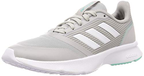 Adidas Nova Flow, Zapatillas Running Mujer, Gris (Grey Two F17/FTWR White/Bahia Mint), 36 2/3 EU