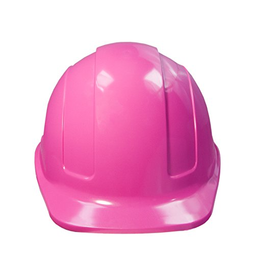JORESTECH Safety Hard Hat Pink HDPE Cap Style Helmet with 4-Point Adjustable Ratchet Suspension For Work, Home, and General Headwear Protection ANSI Z89.1-14 Compliant HHAT-01