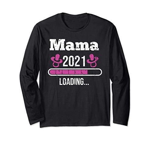 Mama 2021 | Ich bin schwanger | Schwangerschaft | Geschenk Langarmshirt