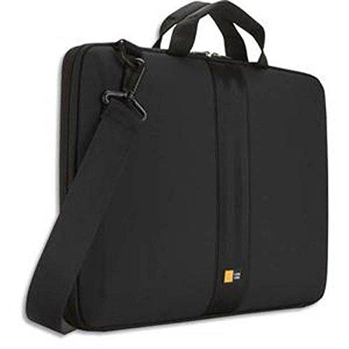 Housse semi rigide avec poignée pour PC portable de 11'' à 13,3'' - L41,5 x H29 x P4 cm noir
