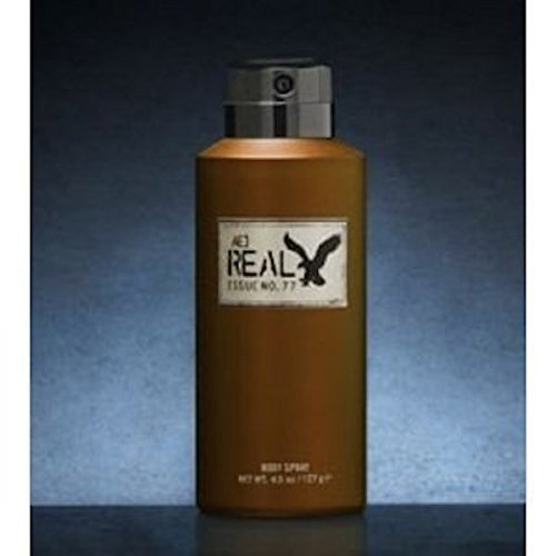 american eagle body spray for men American Eagle Real for Him Men Body Spray, 4.5 Oz / 127 G by American Eagle