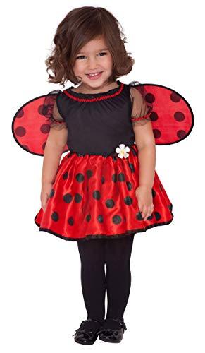 Amscan International - Costume di carnevale, motivo: coccinella, da bambina