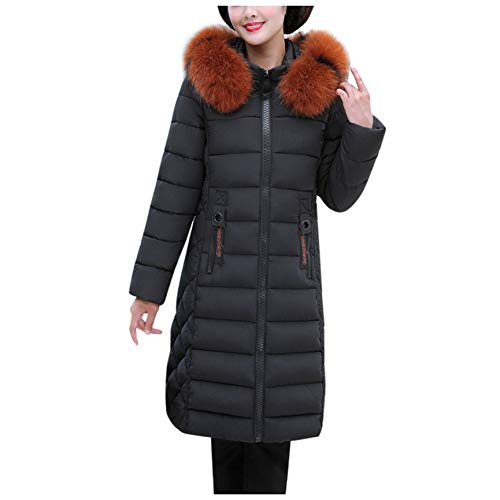 SHANGYI dames winter mode jas dames winter warm katoen capuchon winter lange mouwen jas dames mantel