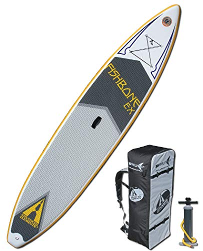 ADVANCED ELEMENTS Fishbone EX Inflatable Stand Up Paddle Board & Pump