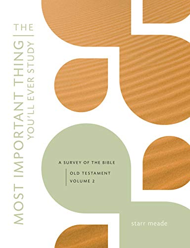 The Most Important Thing You'll Ever Study, Volume 2: A Survey of the Bible: Old Testament, Vol. 2
