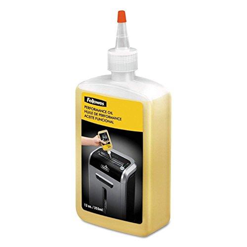 Fellowes Powershred Performance Aceite para trituradora, 12 oz. Botella de boquilla...