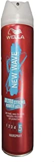 Wella New Wave Ultra Strong Hair Spray Power Hold 5-250ml