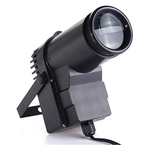 TOOGOO 30W RGBW LED Iluminacion de escenario foco de haz de punto de pin Profesional luz de fondo de KTV fiesta DISCO DJ Luz de escenario