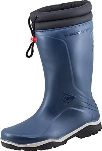 Dunlop Boots Thermostiefel Blizzard Wintergummistiefel für Damen und Herren (43 EU, Marine)