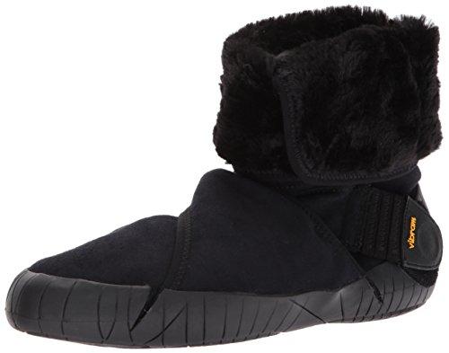 Vibram FiveFingers Unisex-Erwachsene Mid-Boot Eastern Traveler Klassische Stiefel, Schwarz (Black Black), Medium EU