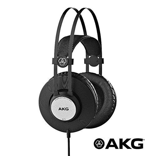 Kopfhörer Professionelle Dynamische HiFi Online DJ, geschlossen, ohrumschließend AKG K72schwarz matt, HiFi Online Shop
