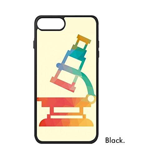 DIYthinker Patrón de Dibujos Animados Microscopio Química para iPhone 7 más Las Cajas de Regalo phonecase la Cubierta del Caso de Apple iPhone Caso 7 Plus