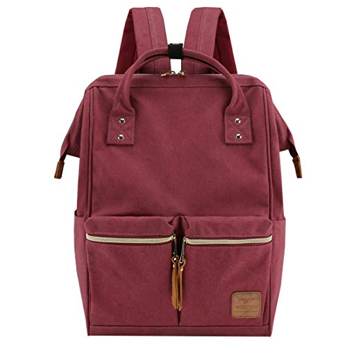 Himawari Large Travel School Backpack with Laptop Compartment 17 inch Waterproof Bookbag for Women College Students Christmas Gift