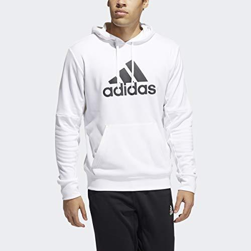adidas Mens Sweater,White,3XL/Tall
