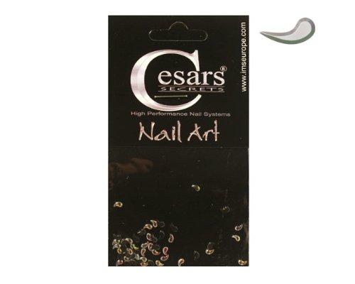 Cesars Nail Art Curve Tear Drops arc en ciel