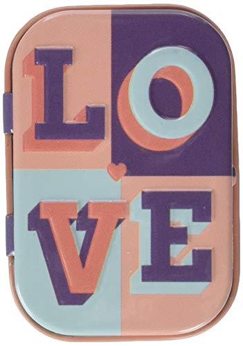 Nostalgic-Art LOVE | Pillen-Dose | Bonbon-Box | Metall | mit Pfefferminz-Dragees