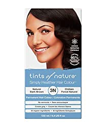 PERMANENT HAIR DYE: Tints of Nature will provide maximum colour performance and up to 100% grey coverage and give long lasting results with its unique patented formula 95% NATURALLY DERIVED INGREDIENTS: This hair dye has been carefully developed with...