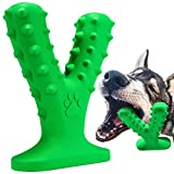 Dog Chew Toys, Indestructible Dog Toothbrush Toys Teeth Cleaning Dental Care Bones for Aggressive Chewers