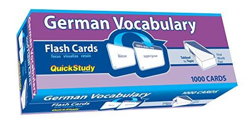 FLSH CARD-GERMAN VOCABULARY (Academic)