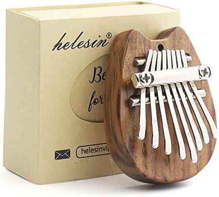 Kalimba 8 Key Thumb Piano Mini Kalimba Portable Mbira Finger Piano Best Gift for Kids Birthday product image