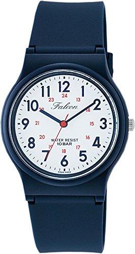 [シチズン Q&Q] 腕時計 アナログ 防水 ウレタンベルト VS04-001 メンズ ホワイト × ネイビー