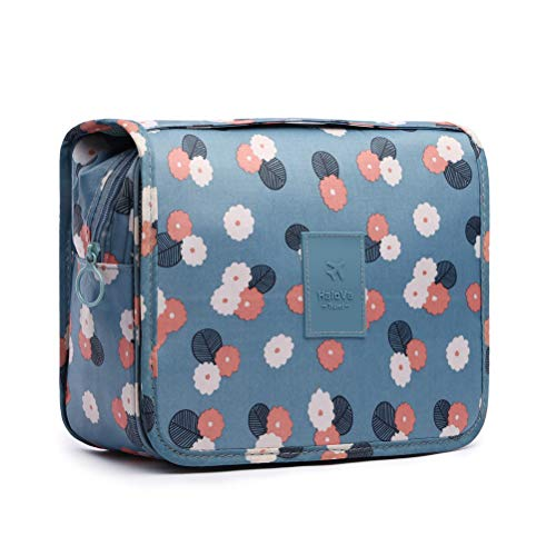 """❤ What's in the box - 1 Toiletry Bag; Product dimensions: 9.1"""" x 7.1"""" x 3.5"""". ❤ Multi Function - Multiple compartments for different requests of storage, strong long lasting zippers. The bag will keep your toiletry accessories safe, it's easy to acce..."""