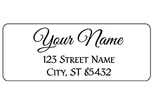 Personalized Return Address Labels - Customize Quantity and Designs - Christmas Address Labels - Easy to Peel, Guaranteed to Stick and Stay, On Blank Mailing Labels 30 Per Sheet