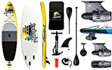 """AQUALUST 10'6"""" SUP Board Stand Up Paddle Surf-Board BlueDrive S Power Fin...*"""
