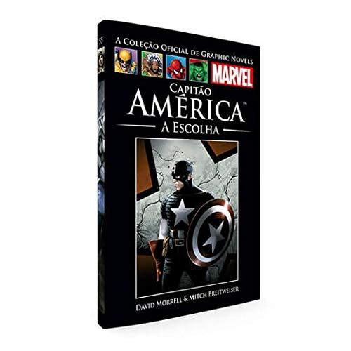 Graphic Novels Marvel Ed. 55 Capitão América - A Escolha