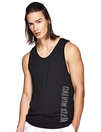 Calvin Klein KM0KM00336 Jersey Tank T Shirt UND Tops Herren Black S
