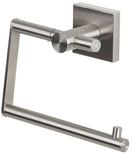"""Spirella WC Rollenhalter """"Nyo"""" Edelstahl Toilettenpapierhalter Klopapierhalter zum kleben oder bohren"""