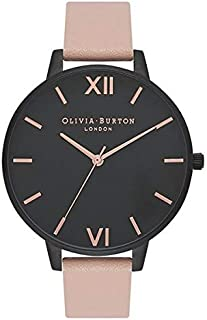 Olivia Burton Womens Quartz Watch, Analog Display and Leather Strap OB16AD25