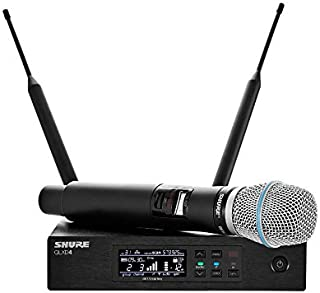 Shure QLXD24/B87A-V50 Wireless Microphone System