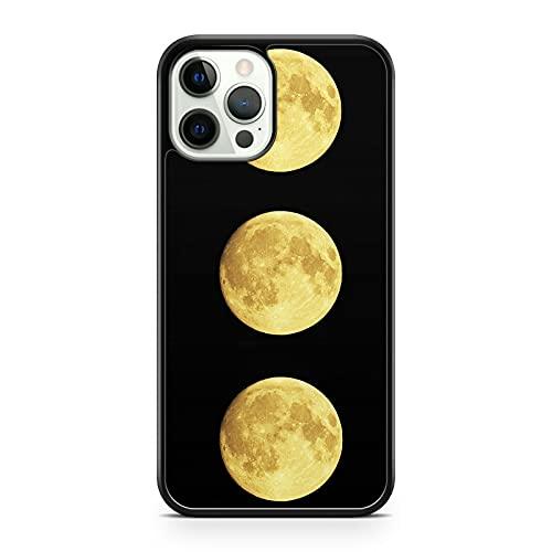Funda para teléfono Galaxy Space de color amarillo extranjero (modelo de teléfono: compatible con Huawei P8 Lite (2017))
