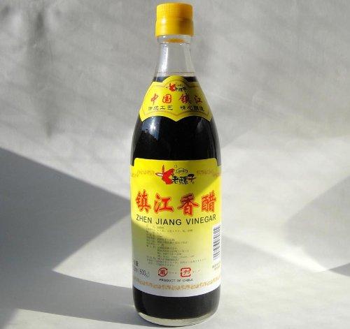 鎮江香酢、鎮江香醋500ml/瓶【こうず 中国黒酢】中国産業務用