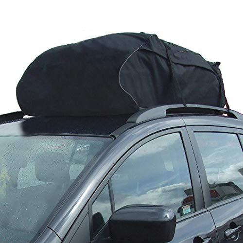 Auto Dachtasche mit breiten Riemen, universell faltbar, wasserdicht, Oxford-Gewebe, Gepäck, Dachgepäcktasche für Auto, Vans
