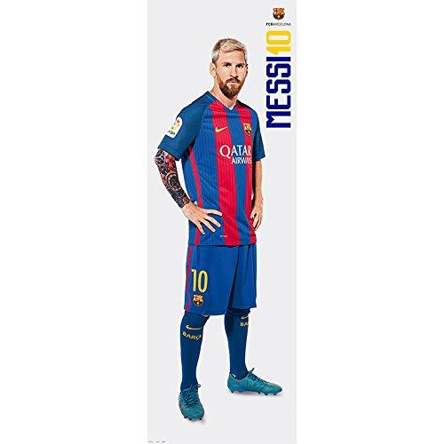 Grupo Erik Editores FC Barcelona Messi–Poster von Tür