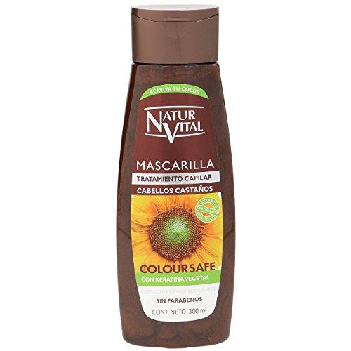 Naturaleza Vida Mascarilla Coloursafe Castaño - 300